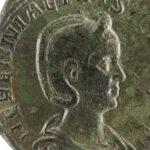 Avers mit dem Porträt der Kaiserin Herennia Etruscilla (Foto:Thomas Hartmann, Universitätsbibliothek Mainz)