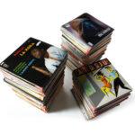 Schallplatten mit französischsprachiger Musik (Foto: Thomas Hartmann, Universitätsbibliothek Mainz)