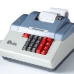 Precisa Modell 160-8, Rechenmaschine, 1961-1975 (Fotos:T. Hartmann-Universitätsbibliothek Mainz)
