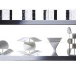 3D-Druck- und Acrylglas-Modelle (Modelle: O. Labs; Foto: Thomas Hartmann, Universitätsbibliothek Mainz)