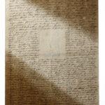 Clemens Brentano: Brief an Rahel Varnhagen [Vorderseite] (Foto: Thomas Hartmann, Universitätsbibliothek Mainz)