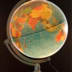 Beleuchtbarer Globus