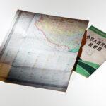 Chinesische Karte der Volksrepublik China, Ausschnitt zeigt Tibet