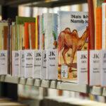 Die Regalreihen in der Jahn-Biblitohek (Foto: Thomas Hartmann, Universitätsbibliothek Mainz)