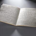 Gesangbuch in Blindenschrift (Foto: Thomas Hartmann, Universitätsbibliothek Mainz)