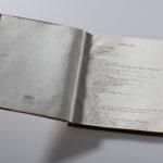Adam Gottrons Musikalisches Tagebuch 1907-1917 (Foto: Thomas Hartmann, Universitätsbibliothek Mainz)