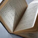 Gesangbuch in Steno-Schrift (Foto: Thomas Hartmann, Universitätsbibliothek Mainz)