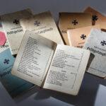 Feldgesangbücher verschiedener Konfessionen (Gesangbucharchiv, Foto: Thomas Hartmann-Universitätsbibliothek Mainz)