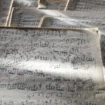 Noten zu Johann Franz Sterkel Klavierkonzert No. 5, op. 31 (Foto: Thomas Hartmann, Universitätsbibliothek Mainz)