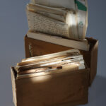 Karteikästen (Foto: Thomas Hartmann, Universitätsbibliothek Mainz)