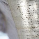 Handschriften-Beispiel (Foto:Thomas Hartmann, Universitätsbibliothek Mainz)