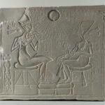 Sog. Altarbild mit Echnaton, Nofretete und Töchtern (Foto: Arbeitsbereich Digitale Dokumentation)