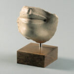 Fragment Mund mit Kinn (Foto: Arbeitsbereich Digitale Dokumentation)