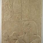 Relief Sethos I. vor Hathor Wein opfernd (Foto: Arbeitsbereich Digitale Dokumentation)
