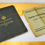Survey of Western Palestine und deutsche Palästinakarte (Foto: Stefan Höhn)