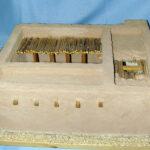 Modell eines Vierraumhaus, Sammlung Hinz (Foto: Wolfgang Zwickel, Biblisch-Archäologische Sammlung)