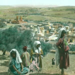 Handkoloriertes Dia, Sammlung Jeremias