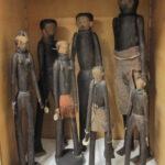 Figurengruppe, möglicherweise Familie aus Nordnamibia (Foto: Anna-Maria Brandstetter, Institut für Ethologie und Afrikastudien)