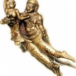 Gandharven-Pärchen, Betelnusszange (Foto: Institut für Indologie)