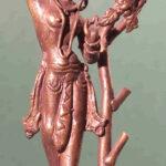 Baumgottheit (Śālabhañjikā) (Foto: Institut für Indologie)