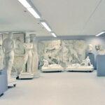 Blick in die Abguss-Sammlung (Foto: Angelika Schurzig, Institut für Altertumswissenschaften)