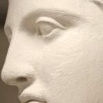 Kopfdetail der sogenannten Artemis von Versailles (Foto: Angelika Schurzig, Institut für Altertumswissenschaften)