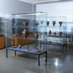 Blick in die Original-Sammlung des Arbeitsbereichs Klassische Archäologie am Institut für Altertumswissenschaften (Foto: Angelika Schurzig, Institut für Altertumswissenschaften)