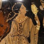 Detail einer Lekythos (Foto: Angelika Schurzig, Institut für Altertumswissenschaften)