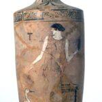 Weißgrundige Lekythos (Foto: Angelika Schurzig, Institut für Altertumswissenschaften)