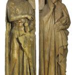Abguss der Naumburger Stifterfiguren Ekkehard und Uta (Foto: Monika Gräwe, Arbeitsbereich Digitale Dokumentation)