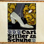 Originalplakat >Carl Stiller Jr. Schuhe< , Ludwig Hohlwein (1874-1949), 1910 (Digitale Reproduktion: Arbeitsbereich Digitale Dokumentation)