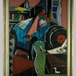 Ölbild >Interieur< , Reinhard Heß (1904-1998), 1948 (Foto: Monika Gräwe, Arbeitsbereich Digitale Dokumentation)