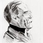 Radierung >Wilhelm von Bode< , Max Liebermann (1847-1935) (digitale Reproduktion: Arbeitsbereich Digitale Dokumentation)