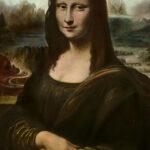 Handkoloriertes Reprodia Mona Lisa, 1920er (Digitale Reproduktion: Arbeitsbereich Digitale Dokumentation)