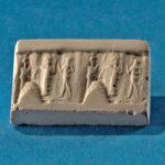 Siegelabrollung: Einführungsszene, Altbabylonisch (etwa 1800-1600 v. Chr.) (Foto: Monika Gräwe, Arbeitsbereich Digitale Dokumentation)