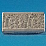 Siegelabrollung: Bogenschützen und Mischwesen, Neuassyrisch (etwa 730-600 v. Chr.) (Foto: Monika Gräwe, Arbeitsbereich Digitale Dokumentation)