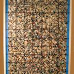 Knopfbild oder Zählgitter und Stichproben: Wie viele Knöpfe sind hier zu sehen? (© Pädagogisches Landesinstitut Rheinland-Pfalz)