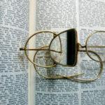 Brille mit Spiegeleinsatz (Foto: Dagmar Loch, Institut für Geschichte, Theorie und Ethik der Medizin)