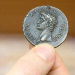 Paduanische Renaissance-Medaille nach Cavino mit Porträt des Augustus (Inv. 502) (Foto: Peter Pulkowski)