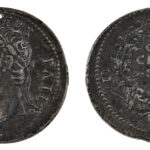 Paduanische Renaissance-Medaille nach Cavino mit Porträt des Augustus (Inv. 502) (Foto/©: Oliver Becker, Arbeitsbereich Alte Geschichte)