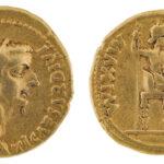 Aureus des Kaisers Tiberius (Foto/©: Oliver Becker, Arbeitsbereich Alte Geschichte)