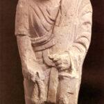 Grabstatue eines Mannes (Foto: Ursula Rudischer, Landesmuseum Mainz)
