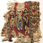 figurierter Wollstreifen (Clavus) (Foto: Ursula Rudischer, Landesmuseum Mainz)