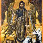 Ikone Johannes der Täufer als Engel der Wüste (Foto: Ursula Rudischer, Landesmuseum Mainz)