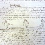 Clemens Brentano: Brief an Susanne Schinkel, 1811 [Innenseite, Ausschnitt] (Foto: Thomas Hartmann, Universitätsbibliothek Mainz)