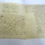 Clemens Brentano: Brief an Bettina von Arnim mit eingestreuten Gedichten [Innenseite] (Foto: Thomas Hartmann, Universitätsbibliothek Mainz)