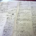 Clemens Brentano: Verse, Brouillons (Foto: Thomas Hartmann, Universitätsbibliothek Mainz)