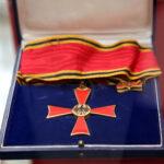 Großes Verdienstkreuz der Bundesrepublik Deutschland aus dem Nachlass von Prof. Dr. Arnold Schmitz (Foto: Stefan F. Sämmer)