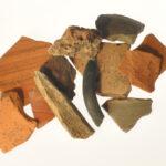 Römische Funde vom Mont Hérapel in Lothringen (Foto: Irene Bell, Institut für Altertumswissenschaften)