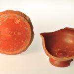 Römische Terra sigillata aus Mainz (mittlere Kaiserzeit) (Foto: Irene Bell, Institut für Altertumswissenschaften)